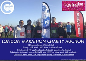CRANFIELD MBA LONDON MARATHON CHARITY AUCTION