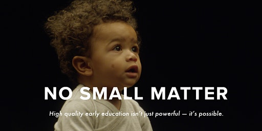No Small Matter Screening and Panel Discussion