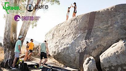 Pure in the Wild x Grotto x Chillino Outdoor Bouldering Adventure tickets