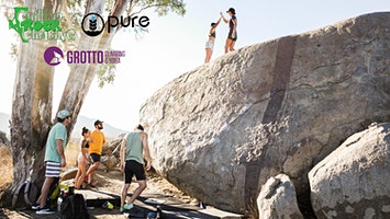Pure in the Wild x Grotto x Chillino Outdoor Bouldering Adventure