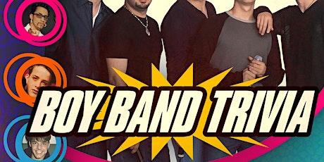 Boy Band Trivia tickets