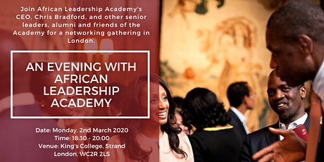An Evening with African Leadership Academy (In London) tickets