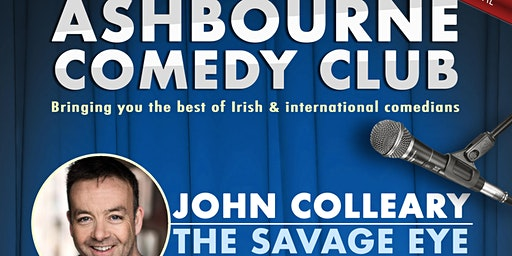 Ashbourne Comedy Club: with John Colleary and Emma