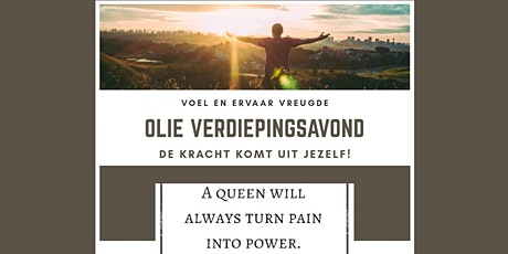 Olieverdiepingsavond April Emmeloord tickets
