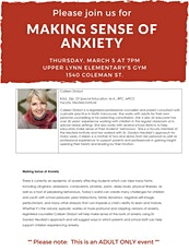 Making Sense of Anxiety with Colleen Drobot tickets