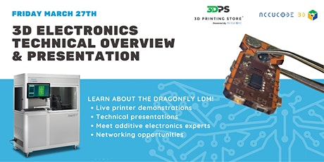Additive Electronics Technical Overview & Presentation - COLORADO tickets
