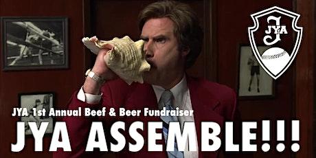 JYA 1st Annual Beef & Beer Fundraiser! tickets