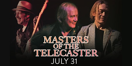 Masters of Telecaster w/ Jim Weider, GE Smith & Tom Principato tickets
