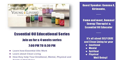 Essential Oil Educational Series tickets