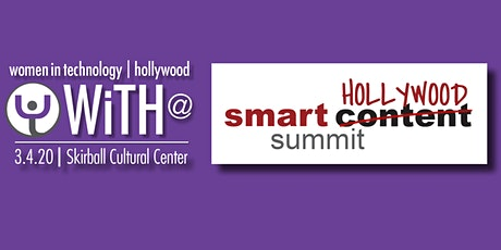 WiTH at Smart Content Summit 2020 tickets