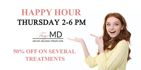 Foye MD and Spa Happy Hour tickets