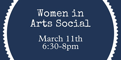 Women in Arts Social tickets