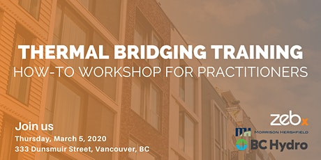Thermal Bridging Training: How-To Workshop for Practitioners tickets