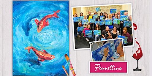 Koi - Pesci Rossi - evento di pittura social!