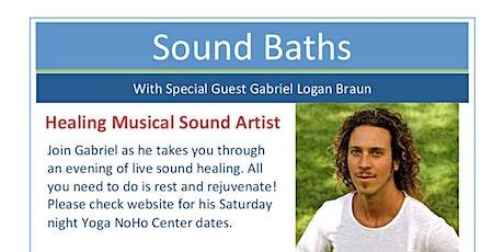 Sonic Sound Bath with Gabriel Logan Braun tickets