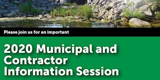 MVCA/RVCA Municipal and Contractor Information Session