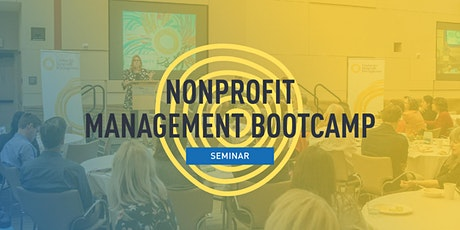 Nonprofit Management Bootcamp tickets