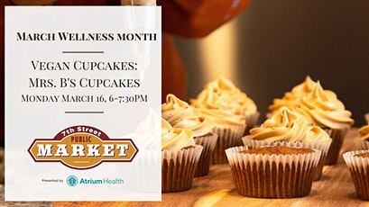 Vegan Cupcakes with Mrs. B's Cupcakes tickets