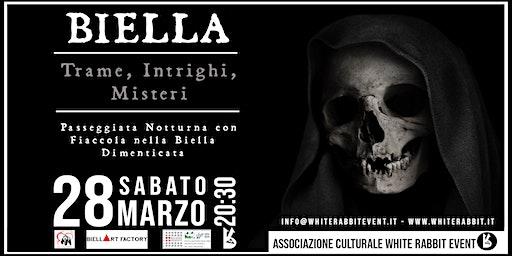Biella: Trame, intrighi e misteri - Passeggiata notturna con fiaccola