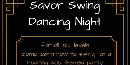 Swing Dancing at Savor