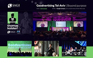 Goodvertising Tel-Aviv | Beyond purpose
