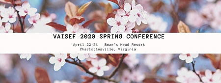VAISEF 2020 Spring Conference