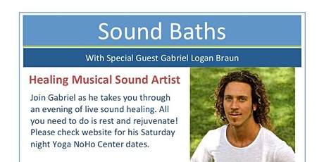 Sonic Sound Bath with Gabriel Logan Braun tickets