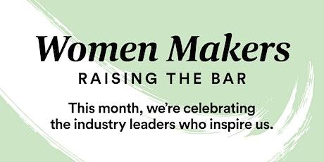 Local Women Makers Dinner tickets