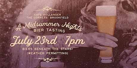 A Midsummer Night's Bier Tasting tickets