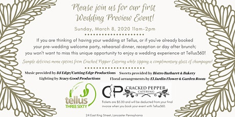 Tellus360 Wedding Preview Event tickets