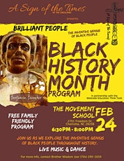 Brilliant People Black History Program tickets