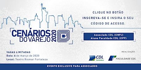 CENÁRIOS DO VAREJO 2020 ingressos