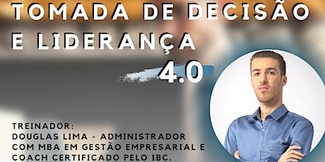 Workshop: Tomada de Decisão & Liderança 4.0 | 04 Abril (Sáb) ingressos