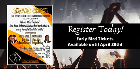 2020 Ministers and Church Leaders Conference tickets