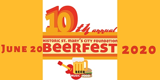 10th Annual Historic St. Mary's City BeerFest 2020