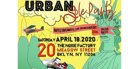 Urban Sole Party NYC tickets