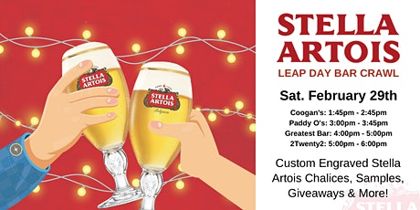 Stella Artois Leap Day Crawl tickets