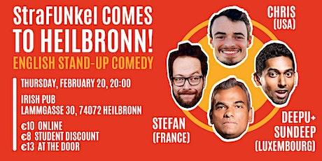StraFUNkel goes Heilbronn! English Comedy Night Tickets