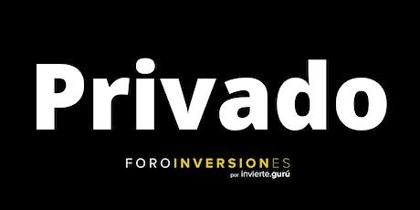 Privado Foro Inversiones Monterrey Standard boletos