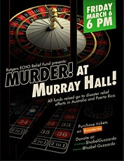 Murder! at Murray Hall! a benefit for Australia and Puerto Rico tickets