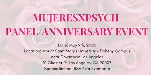 MujeresxPsych Panel/First Anniversary Event