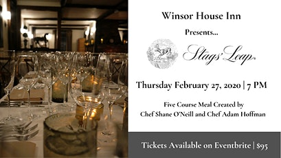 Stags' Leap Wine Dinner tickets