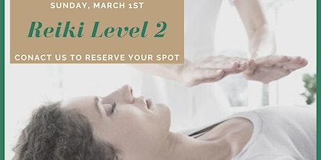Reiki Level 2 Training & Certification + Sound Healing 101 tickets