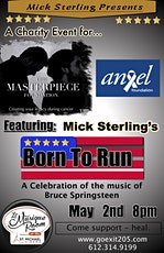Mick Sterling Presents: BORN TO RUN - A CHARITY EVENT tickets