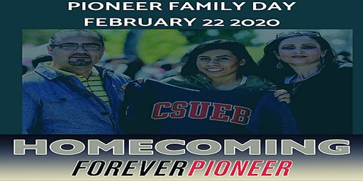 Cal State, East Bay Homecoming 2020 Pioneer Family Day