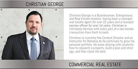 Real Estate Intensive By Christian George! tickets