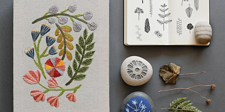 Introduction to Embroidery with Arounna of Bookhou tickets