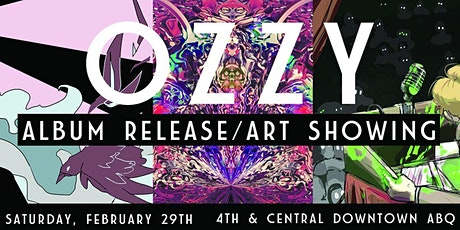 OZZY Album Release tickets