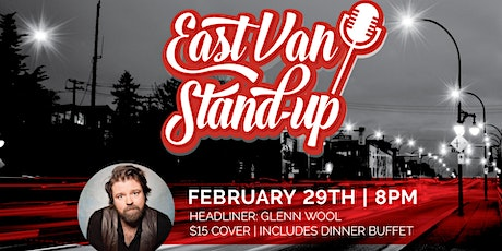 East Van Stand Up Night at Hastings Racecourse & Casino Presents Glenn Wool tickets