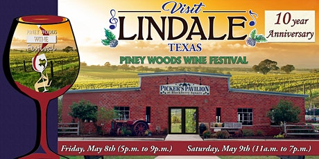 2020 Piney Woods Wine Festival tickets